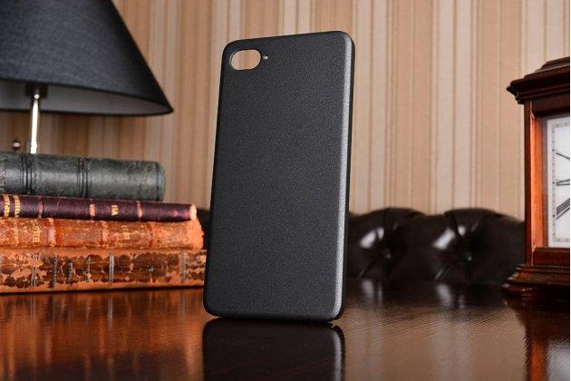 """Фирменная задняя панель-крышка-накладка из тончайшего и прочного пластика для Lenovo Zuk Z2/ZUK Z2 Rio Edition 5.0"""" черная"""