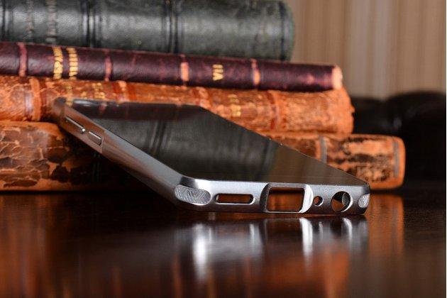 """Фирменная металлическая задняя панель-крышка-накладка из тончайшего облегченного авиационного алюминия для Lenovo Zuk Z2/ZUK Z2 Rio Edition 5.0""""  серебрянная"""