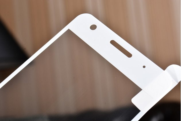 """Фирменное 3D защитное изогнутое стекло с закругленными изогнутыми краями которое полностью закрывает экран / дисплей по краям с олеофобным покрытием для Lenovo Zuk Z2/ZUK Z2 Rio Edition 5.0"""""""