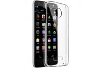 """Фирменная задняя панель-крышка-накладка из тончайшего и прочного пластика для Motorola (Lenovo) Moto Z Force 5.5"""" прозрачная"""