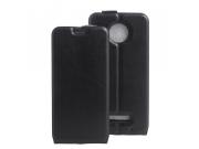 Фирменный оригинальный вертикальный откидной чехол-флип для Motorola (Lenovo) Moto Z Force 5.5