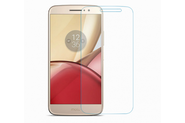 Фирменная оригинальная защитная пленка для телефона Motorola Moto M (XT1662) 5.5 глянцевая