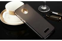 """Фирменная ультра-тонкая силиконовая задняя панель-чехол-накладка для Lenovo Moto Z Play/ Motorola Moto Х Play (XT1635-03) 5.5"""" серая"""