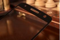 Фирменное сенсорное стекло-тачскрин на Motorola Moto Z черный и инструменты для вскрытия + гарантия