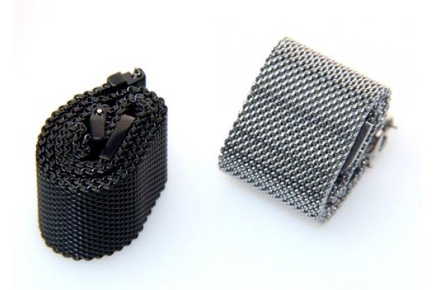 Фирменный сменный сетчатый плетёный миланский ремешок для умных смарт-часов Motorola Moto 360 из нержавеющей стали с магнитным замком-застежкой