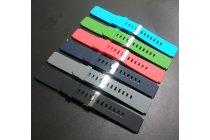Фирменный необычный сменный силиконовый ремешок  для умных смарт-часов Motorola Moto 360 разноцветный РАЗМЕР 22мм