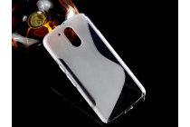 """Фирменная ультра-тонкая силиконовая задняя панель-чехол-накладка для Motorola Moto G4 Plus (XT1642) 5.5"""" белая"""