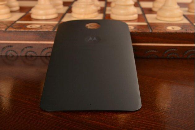 Родная оригинальная задняя крышка-панель которая шла в комплекте для Motorola Nexus 6 черная