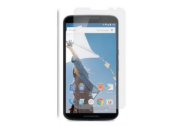 Фирменная оригинальная защитная пленка для телефона Motorola Nexus 6 глянцевая