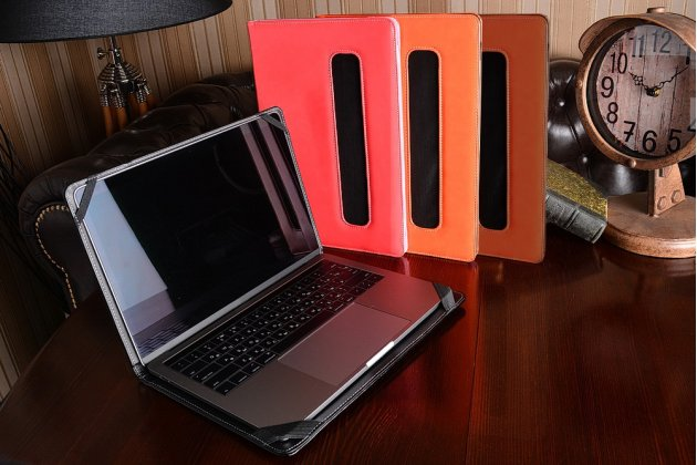 Защитный противоударный чехол-обложка-футляр-кейс для ноутбука LENOVO THINKPAD T540 из качественной импортной кожи. Цвет в ассортименте. Только в нашем магазине. Количество ограничено