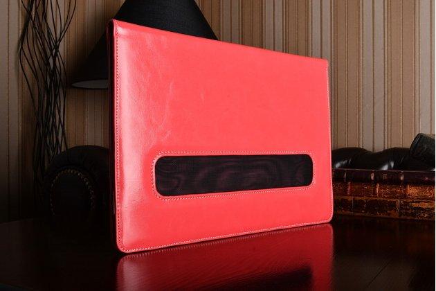 Защитный противоударный чехол-обложка-футляр-кейс для ноутбука LENOVO IDEAPAD Y410 из качественной импортной кожи. Цвет в ассортименте. Только в нашем магазине. Количество ограничено