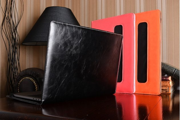 Защитный противоударный чехол-обложка-футляр-кейс для ноутбука LENOVO IDEAPAD Z580A2 из качественной импортной кожи. Цвет в ассортименте. Только в нашем магазине. Количество ограничено