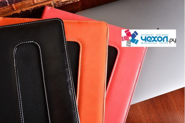 Защитный противоударный чехол-обложка-футляр-кейс для ноутбука Acer ASPIRE ES1-411 из качественной импортной кожи. Цвет в ассортименте. Только в нашем магазине. Количество ограничено