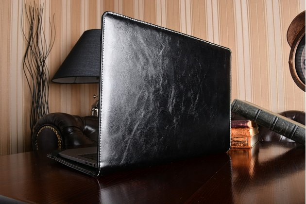 Защитный противоударный чехол-обложка-футляр-кейс для ноутбука LENOVO IDEAPAD Y5070 из качественной импортной кожи. Цвет в ассортименте. Только в нашем магазине. Количество ограничено
