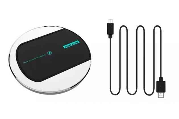 Фирменная беспроводная зарядка/беспроводная индукционная QI зарядка Nillkin Magic disk 2(II) wireless charger черный для всех телефонов