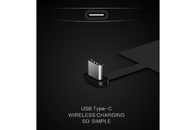 Беспроводная зарядка (QI) на телефон MyPhone Compact с отделкой под кожу и LED-подсветкой. Продаётся комплектом (док -станция + ресивер)