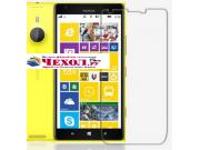 Фирменная оригинальная защитная пленка для телефона Nokia Lumia 1520 матовая..