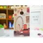 Фирменная необычная из легчайшего и тончайшего пластика задняя панель-чехол-накладка для Nokia Lumia 1520