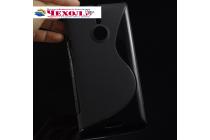 Фирменная ультра-тонкая полимерная из мягкого качественного силикона задняя панель-чехол-накладка для  Nokia Lumia 1520 черная