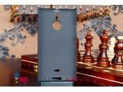 Фирменная задняя панель-крышка-накладка из тончайшего и прочного пластика для Nokia Lumia 1520 черная..