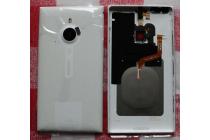 Фирменная родная оригинальная задняя крышка с функцией беспроводной зарядки и логотипом для Nokia Lumia 1520 белая