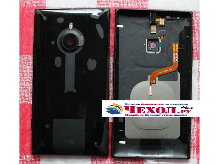 Фирменная родная оригинальная задняя крышка с функцией беспроводной зарядки и логотипом для Nokia Lumia 1520 ч..
