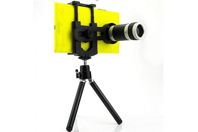 Фирменный оригинальный 8-кратный зум-объектив со трипод-штативом для телефона Nokia Lumia 1520