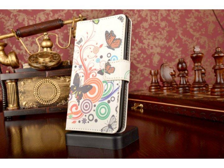 Фирменный уникальный необычный чехол-книжка для Nokia Lumia 730 Dual sim