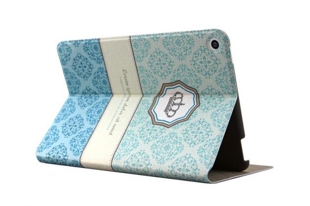 Фирменный чехол-книжка с безумно красивым расписным узором на Nokia N1 Tablet 7.9