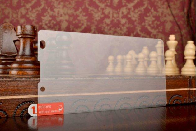 Фирменное защитное закалённое противоударное стекло премиум-класса из качественного японского материала с олеофобным покрытием для Nokia XL Dual sim