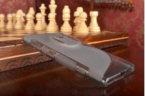 Фирменная ультра-тонкая полимерная из мягкого качественного силикона задняя панель-чехол-накладка для Nokia Lumia 1020 серая