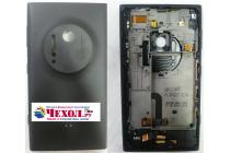 Фирменная родная оригинальная задняя крышка с функцией беспроводной зарядки и логотипом для Nokia Lumia 1020 черная