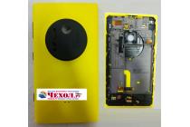 Фирменная родная оригинальная задняя крышка с функцией беспроводной зарядки и логотипом для Nokia Lumia 1020 желтая