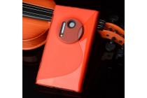 Фирменная ультра-тонкая полимерная из мягкого качественного силикона задняя панель-чехол-накладка для Nokia Lumia 1020 красная