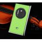 Фирменная роскошная элитная задняя панель-крышка на металлической основе со стразами для Nokia Lumia 1020 тема..