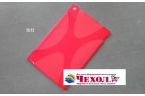 Фирменная ультра-тонкая полимерная из мягкого качественного силикона задняя панель-чехол-накладка для Nokia Lumia 2520 красная