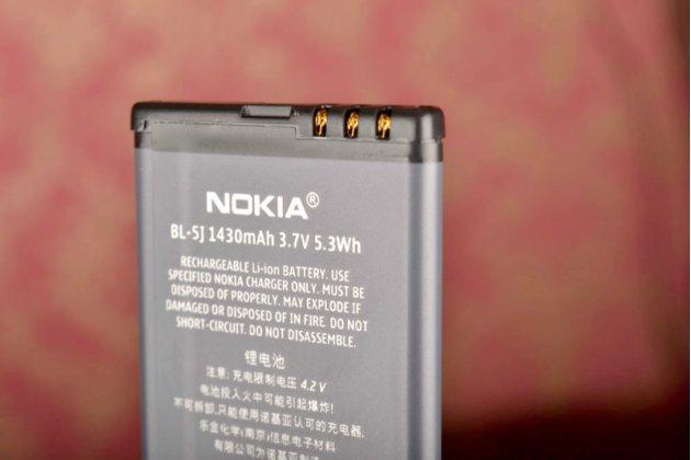 Фирменная аккумуляторная батарея 1320mah BL-5J на телефон Nokia Lumia 520 / 525 / 530 / 530 Dual Sim + гарантия