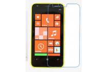 Фирменная защитная пленка для телефона Nokia Lumia 620 глянцевая