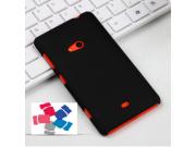 Фирменная задняя панель-крышка-накладка из тончайшего и прочного пластика для Nokia Lumia 625 черная..