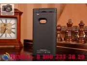 Чехол-бампер со встроенным усиленным аккумулятором большой повышенной расширенной ёмкости 2200mAh для Nokia Lu..