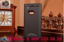 Чехол-бампер со встроенным усиленным аккумулятором большой повышенной расширенной ёмкости 2200mAh для Nokia Lumia 920 / Lumia 920 Dual Sim черный + гарантия