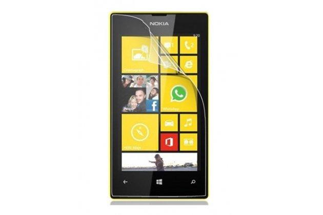 Фирменная оригинальная защитная пленка для телефона Nokia Lumia 920 глянцевая