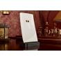 Фирменная ультра-тонкая силиконовая задняя панель-чехол-накладка для Nokia Lumia 920 белая..