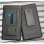 Противоударный усиленный ударопрочный фирменный чехол-бампер-пенал для Nokia Lumia 920 черный..