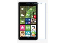 Фирменная оригинальная защитная пленка для телефона Nokia Lumia 830 глянцевая