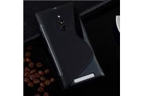Фирменная ультра-тонкая полимерная из мягкого качественного силикона задняя панель-чехол-накладка для Nokia Lumia 830  черная