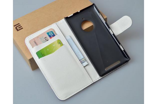 """Фирменный уникальный необычный чехол-подставка с визитницей кармашком для Nokia Lumia 830 """"тематика Франция"""""""