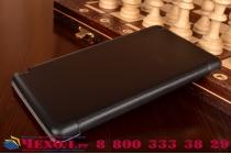 """Фирменный умный чехол-книжка самый тонкий в мире для NVIDIA SHIELD Tablet 2 K1 8.0 """"Il Sottile"""" черный пластиковый"""