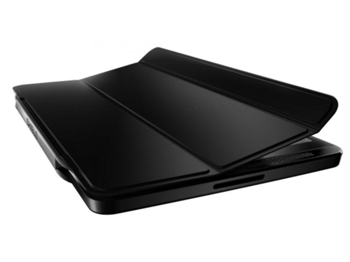 Фирменный чехол-обложка Smart cover для Nvidia Shield Tablet 16GB WiFi/32GB LTE черного цвета..