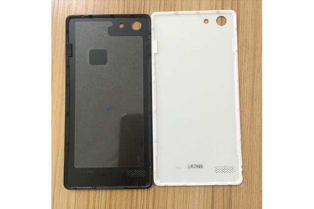 """Родная оригинальная задняя крышка-панель которая шла в комплекте для Oppo A33"""" черная"""